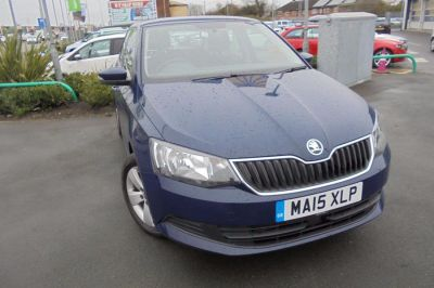 Skoda Fabia 1.4 TDI SE 5dr Hatchback Diesel Blue at Lightcliffe ŠKODA Warrington