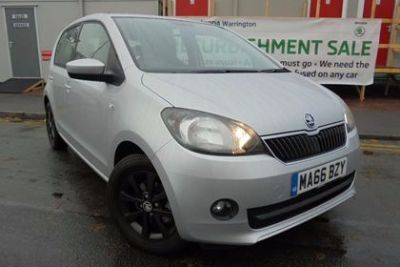 Skoda Citigo 1.0 MPI GreenTech SE L 5dr Hatchback Petrol Silver at Lightcliffe ŠKODA Warrington
