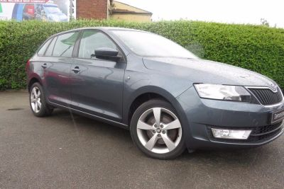 Skoda Rapid Spaceback 1.6 TDI CR GreenTech SE Tech 5dr Hatchback Diesel Grey at Lightcliffe ŠKODA Warrington