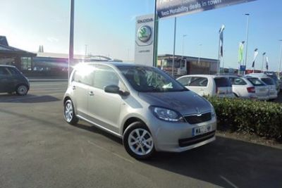 Skoda Citigo 1.0 MPI SE 5dr Hatchback Petrol Silver at Lightcliffe ŠKODA Warrington