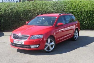 Skoda Octavia 2.0 TDI CR SE 5dr Estate Diesel Red at Lightcliffe ŠKODA Warrington