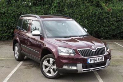 Skoda Yeti Outdoor 2.0 TDI CR [140] SE 4x4 5dr Hatchback Diesel Maroon at Lightcliffe ŠKODA Warrington