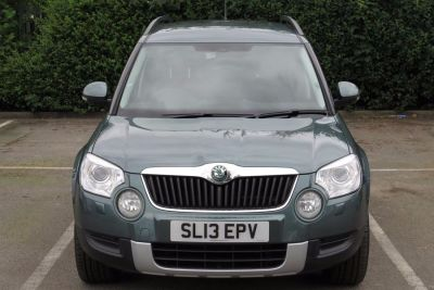 Skoda Yeti 2.0 TDI CR [170] Elegance 4x4 5dr Hatchback Diesel Green at Lightcliffe ŠKODA Warrington