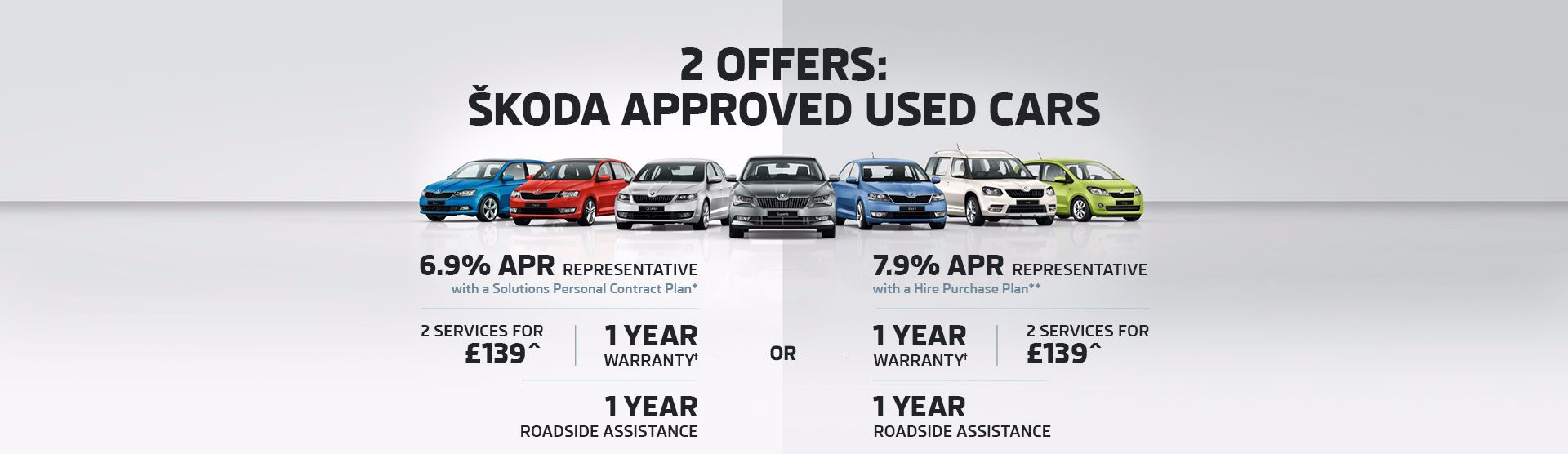 Approved Used ŠKODA Offers