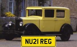 New 21 Plate Registrations